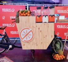 Shakes on Wheels Smoothiefiets – Smoothiebar